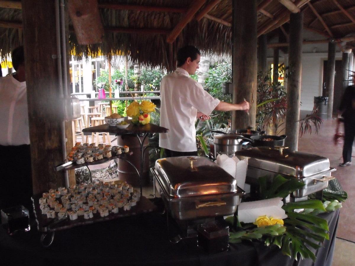 catering menus miami